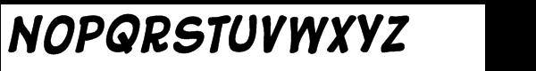 10 Cent Comics Bold Font UPPERCASE