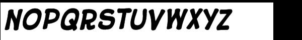 10 Cent Comics Bold Font LOWERCASE