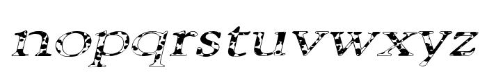 101 Puppies Italic SW Font LOWERCASE
