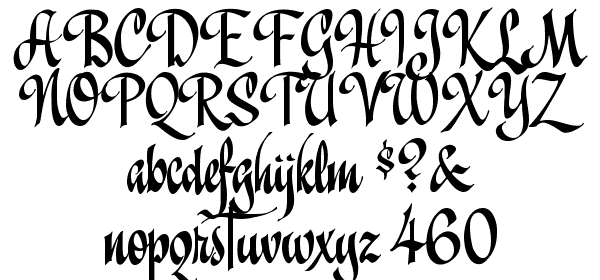 A&S Christmas Script Font