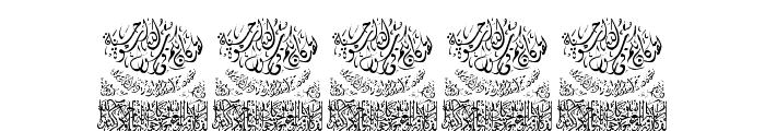 Aayat Quraan_043 Font OTHER CHARS