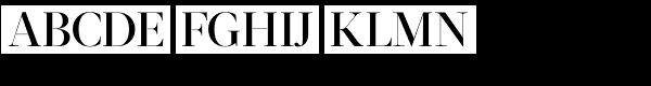 Acta Display Medium Font UPPERCASE