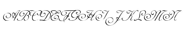 Adine Kirnberg Regular Font UPPERCASE