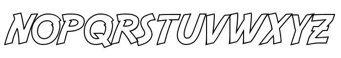 Adventure Hollow Font UPPERCASE