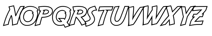 Adventure Hollow Font LOWERCASE