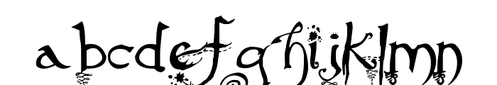 Afterlife Font LOWERCASE