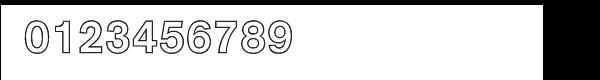 AG Book BQ Medium Outline Font OTHER CHARS