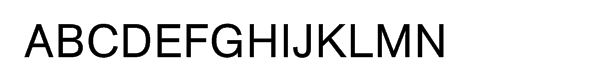 AG Book BQ Pro Regular Font UPPERCASE