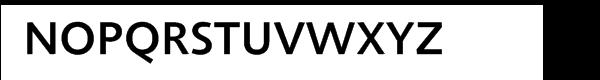 Agilita® Com Medium Font UPPERCASE