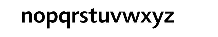 Agilita Pro Medium Font LOWERCASE