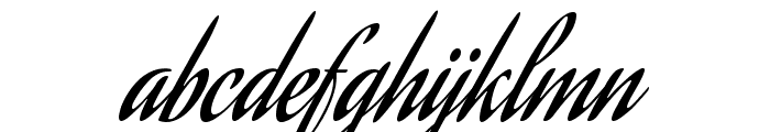 Aguafina Script Regular Font LOWERCASE