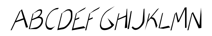 AirCut Light Font UPPERCASE