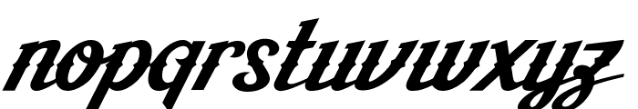 AishaScript Font LOWERCASE