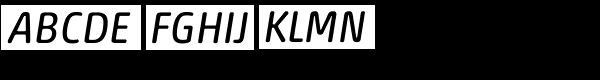 Akko Std Rounded Italic Font UPPERCASE