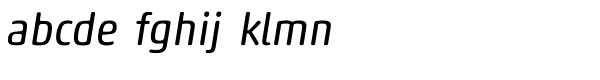 Akko Std Rounded Italic Font LOWERCASE