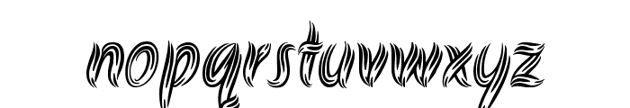 Akronim Font LOWERCASE