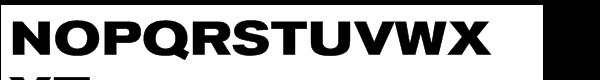 Akzidenz-Grotesk® Std Bold Extended (OT TTF) Font