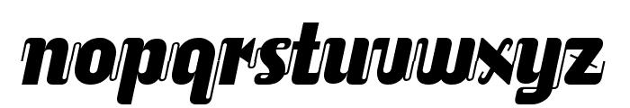 ALusine Oblique Font LOWERCASE
