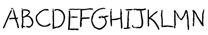 Alice Oranges Font UPPERCASE