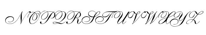 Allegro Font UPPERCASE