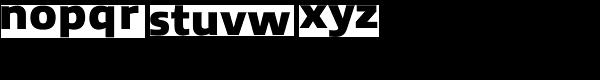 Allumi Std Black Font LOWERCASE
