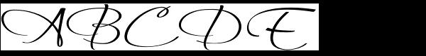 Always Regular Font UPPERCASE