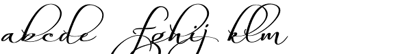 Always Regular Font LOWERCASE