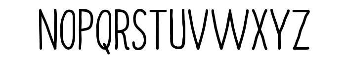 Always Together Font UPPERCASE