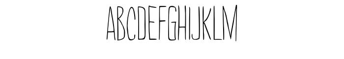 Amarelinha Regular Font UPPERCASE