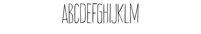 Amarelinha Regular Font LOWERCASE