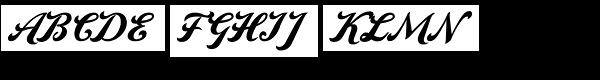 Amaro C Font UPPERCASE