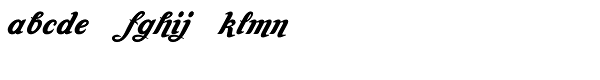 Amaro C Font LOWERCASE