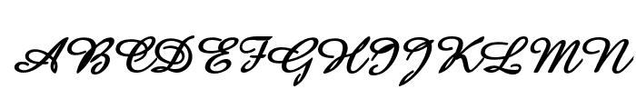 Amaze D Bold Italic Font UPPERCASE