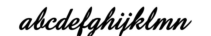 Amaze D Bold Italic Font LOWERCASE