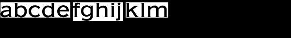 American Gothic URW Medium Font LOWERCASE