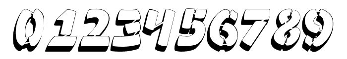 Ampad 3D2 Regular Font OTHER CHARS
