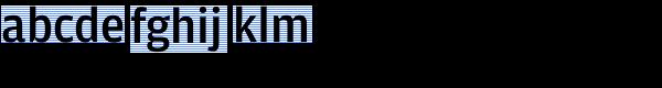 Amplitude Medium Font LOWERCASE