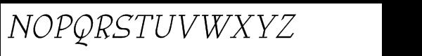 Anarckhie Italic Font UPPERCASE