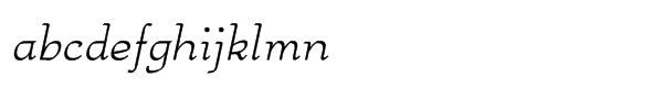 Anarckhie Italic Font LOWERCASE