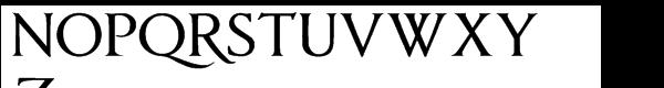 Anavio™ Bold Font UPPERCASE