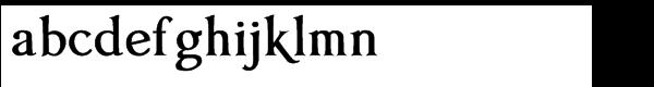 Anavio™ Bold Font LOWERCASE