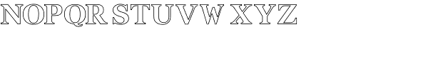 Ancestry Companion Font UPPERCASE