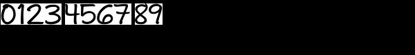 Andrea II Script Upright Medium Font OTHER CHARS