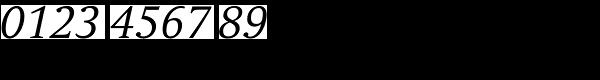 Andulka Book Italic Font OTHER CHARS