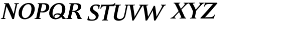 Andulka Book UCF Bold Italic Font UPPERCASE