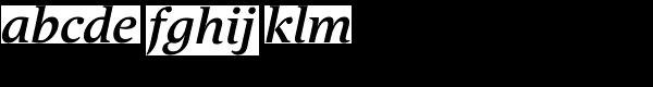 Andulka Book UCF Bold Italic Font LOWERCASE