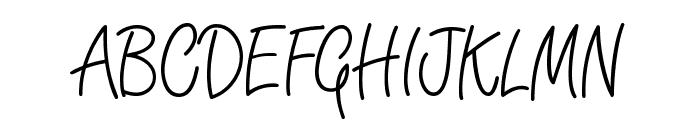 Angelique Rose FFP Font UPPERCASE