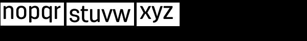 Antartida Rounded Medium Font LOWERCASE