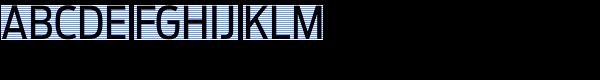 Antenna Cond Regular Font UPPERCASE