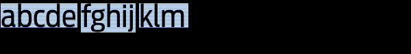 Antenna Cond Regular Font LOWERCASE
